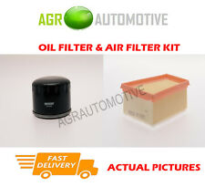 BIO PETROL SERVICE KIT OIL AIR FILTER FOR RENAULT MEGANE 1.6 105 BHP 2008-09