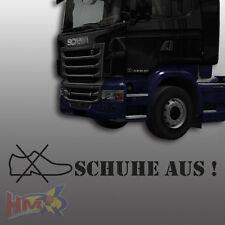 HM © Chaussures de! Autocollant Camion, scania, MAN, MERCEDES, DAF, JDM camion ag-0083