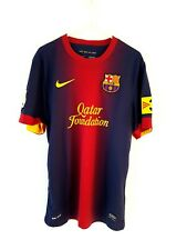 949b6d68754 Barcelona Home Shirt 2012. Small Adults. Nike. Red Short Sleeves Football  Top.