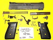 Jimenez J.A. Nine Blued Steel Model Nine In 9 Mm Gun Parts Lot Item # 19-266