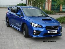 SUBARU STi WRX MY 2015 front lip spoiler / splitter for new 2014 onwards Impreza