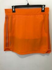 Ralph Lauren Rlx Golf Women's Solid Skirt/Skort Orange/Navy Size Medium Nwt