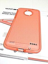 Tech21 Evo Check FlexShock Case/Cover for Moto Z Droid in Rose/White Colors ,New