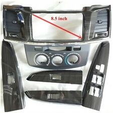 TOYOTA HILUX VIGO SR5 MK6 1SET BLACK WOODEN CENTER CONSOLE /4DOORS 2005-2012
