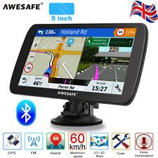 "Awesafe 9"" GPS Navigation for Lorry Car SAT NAV 8GB Europe Maps Bluetooth"