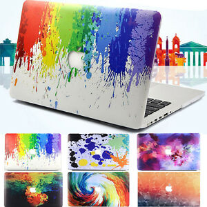 """Colorful MulitColored Matte Hard Case Shell for Macbook Air Pro 11"""" 12"""" 13"""" 15''"""