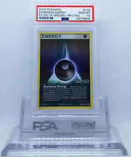 Pokemon EX DELTA SPECIES DARKNESS ENERGY #103 REVERSE HOLO PSA 10 GEM MINT #*