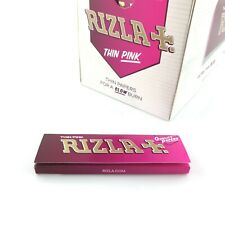 Rizla Pink Rolling Papers Cigarette Papers Regular Size