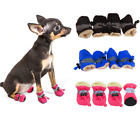 Quality Pet Dog Boots Waterproof Cotton Anti-slip Reflective Puppy Snow Shoes