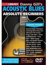Lick Library: Danny Gill's Acoustic Blues for Absolute Beginne (2013, DVD NIEUW)