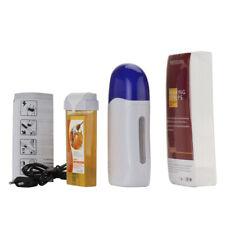 Roll On Cartridge Depilatory Heater Wax Waxing Paper Kit Hair Removal Se FKO