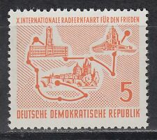 DDR East Germany 1957 ** Mi.568 Fahrrad-Rennen Bicycle Racing