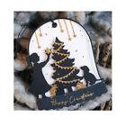 Frohe Weihnachten Baum Metall Stencil Dies DIY Scrapbooking Stanzschablone Karte