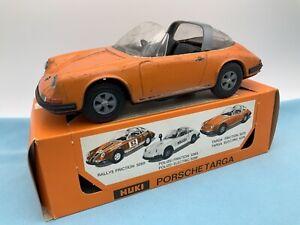 # Huki 5273 Porsche Targa In OVP 60er (64816) Blechspielzeug