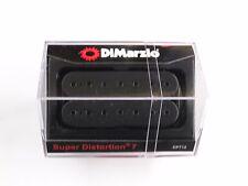 DiMarzio Super Distortion 7 String Bridge Black W/Black Poles DP 712