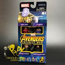 Avengers 3 INFINITY WAR Minimates BOX Set THANOS Winter Soldier WIDOW Iron Man!