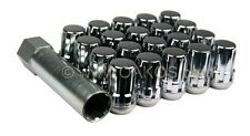 McGard Spline Drive Lugs (Chrome, 12x1.25mm, Set/20) For Subaru 2125492500 84241