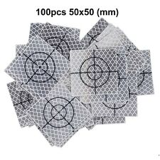 100pcs Reflector Sheet 50 x 50 mm ( 50x50 ) Reflective tape target total station