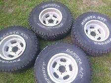 4 Slot Alloy Wheels Like Cragar American Racing Ansen Jeep Cj Ford Bronco F150