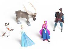 Disney Frozen Eiskönigin 5 Bullyland Figuren Tortenfiguren Elsa Anna Olaf Sven..