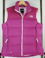 THE NORTH FACE 700 Size Large Goose Down Womens Sleeveless Puffy Vest Full Zip