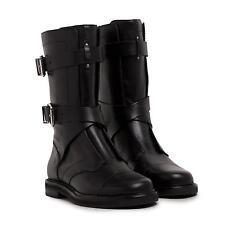 Stivale donna PIERRE BALMAIN stivaletto n 37 RRP € 575 scarpe pelle nero -70%