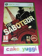 THE SABOTEUR XBOX 360 TRES BON ETAT VERSION 100% FRANCAISE