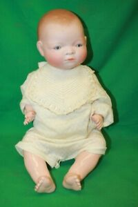 """Grace Putnam Bye-Lo Baby Doll Bisque head 18"""" celluloid/composition doll"""
