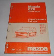 Werkstatthandbuch Mazda 626 Station Wagon Kombi GD / GV, St. 01/1990