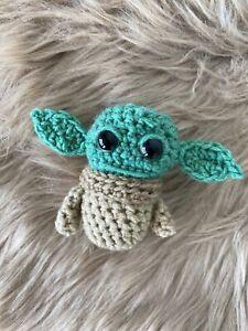 Handmade Crochet Amigurumi Starwars The Mandalorian Baby Yoda/Grogu Inspired