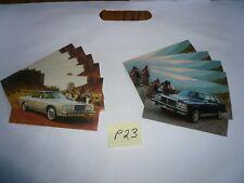 1977 1979 Ford LTD Landau Postcards (5 each) Lot of Cards - P23