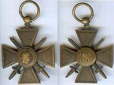 Médaille - Croix de guerre 1914 - 1916 sans ruban