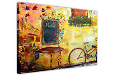 IDYLLIC CAFE CANVAS WALL ART PICTURES HOME DECORATION PRINTS PAINTING REPRINT
