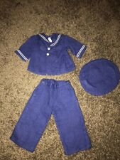 Terri - Jerri Lee Doll Clothing Navy Sailor Suit Three Piece Tagged
