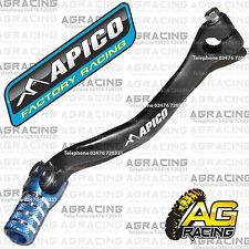 Apico Black Blue Gear Pedal Lever Shifter For TM EN 300 2015 Motocross Enduro