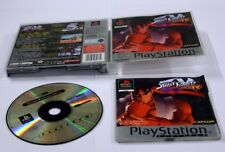 JEU SONY PS 1  Street Fighter ex plus platinuim  complet
