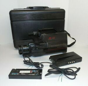 Panasonic AF X8 CCD OmniMovie VHS HQ Video Recorder w/AC-Video Brick/Case