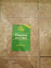 Cleansing The Colon RARE BOOKLET by BRIAN WRIGHT