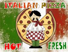 Italien Pizza Signe Panneau Pub Signe Café Pizza Signe Design Cuisine Signe