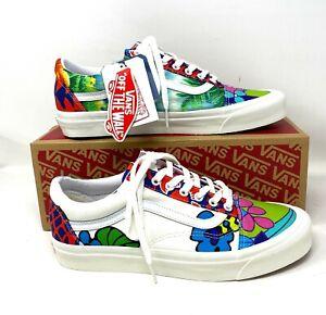 VANS Old Skool 36 DX Anaheim Factory Multi Floral Women's Sneakers VN0A38G219Z