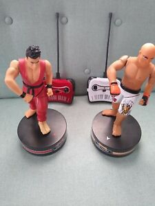 MMA Cage Fighters Remote Controlled Spinning Action RC Kicks The Black Series