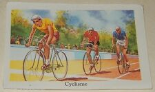 Ancienne Image du type Bon Point : CYCLISME - Sport EDITIONS EDUCATIVES