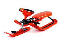Stiga Snow Racer Sled - ORANGE FORCE, Imported from SWEDEN, NEW