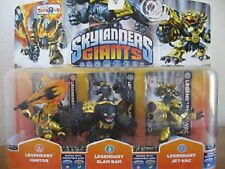 Skylanders GIANTS Legendary 3 PACK Ignitor Slam Bam Jet-Vac Toys R us Exclusive