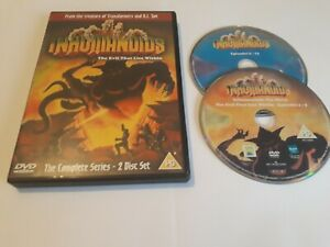 Inhumanoids The Evil That Lies Within The Complete Series DVD 2005 World Post!