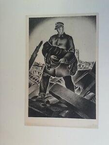 Cartolina Associazione nazionale Ferrovieri Numero 7 Apolloni