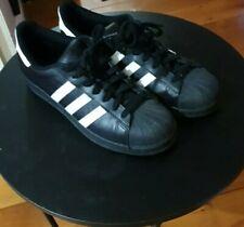Adidas Superstars Black Size US 10.5 mens