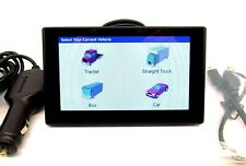 "Garmin Dezl 580 5"" GPS Navigator for Trucks Bus Car Lifetime Map and HD traffic"