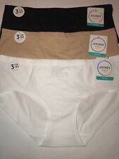 Jockey 2142 Seamfree Hipster Panty Touch of Air Size Small 5 3 Pairs