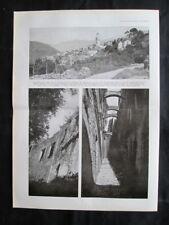 Bussana Vecchia,Sanremo+A.Edallo,G.Amisani,P.Basorini,L.Broggini Stampa del 1937